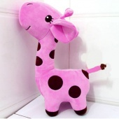 "Super Cute Giraffe Plush Doll Stuffed Toy 18cm/7.2"" Gift Doll with Suction"