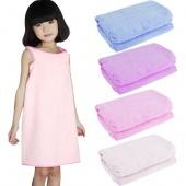 Children's Unisex Microfiber Towels Soft Magic Bath Towel Bathrobes Bath Skirt Beach