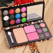 12 Color Eyeshadow Palette Professional Makeup Kit Cosmetic Blusher Powder Palette