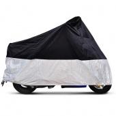 XL Motorcycle Waterproof Outdoor Motorbike Rain Vented Bike Cover Extra Large