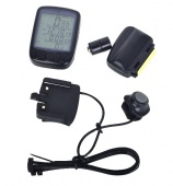 Waterproof Bicycle Bike Cycle Wireless LCD Digital Computer Speedometer Odometer Green LED Backlight 563C