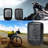 Waterproof Bicycle Bike Cycle Wireless LCD Digital Computer Speedometer Odometer White LED Backlight 563C