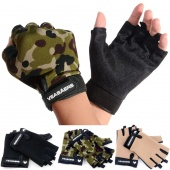 Sport Cycling Fitness GYM Half Finger Weightlifting Gloves Exercise Training Gloves