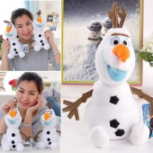 "Movie Frozen Olaf Snowman 9"" Plush Soft Stuffed Animal Toy Doll"