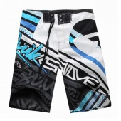 Men's Surf Board Shorts Beach Swimwear Short Pants Black 5 Sizes