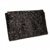 Fashion Style Women's Sparkle Spangle Clutch Evening Bag Wallet Purse Handbag 3colors