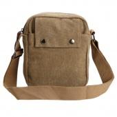 Men's Vintage Canvas Multifunction Travel Satchel / Messenger Shoulder Bag