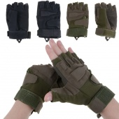 Anti- Skidding Wear-Resistance Sport Cycling Fitness GYM Half Finger Weightlifting Gloves Exercise Training Gloves