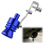 Universal Turbo Sound Exhaust Muffler Pipe Whistle / Fake Blow-off BOV Simulator Whistler Size L
