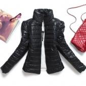 Women's Stand Collar Outerwear Winter Short Cotton Padded Coat Jacket Outerwear