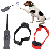 Rechargeable Remote Dog Training Shock And Vibration Collar for 2 Dogs