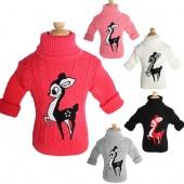 Unisex Autumn Winter Sweater of Cartoon Children Baby Boy Girl Kids Outerwear