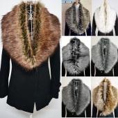 Trendy Winter Scarf Wrap Faux Fur Collar Shawl Shrug
