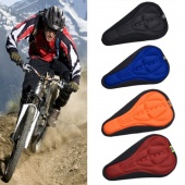 Fashion Cycling Bike Bicycle 3D Silicone Gel Pad Saddle Seat Cover Riding Equipment