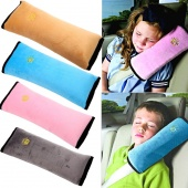 Baby Car Auto Safety Seat Belt Harness Shoulder Pad Cover Cushion Support Pillow