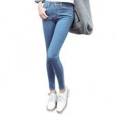 Women Jeans Slim Fit Waist Jeans Denim High Elastic Pencil Pants Skinny Women Jeans