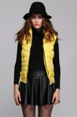 Autumn Cotton Padded Vest Diamonds Casual Vest Down Jacket Coat Clothing Wear Women's Fashion Vests