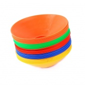 Set of 10 Space Markers Cones Soccer Football Equipment