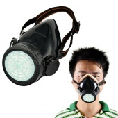 Respirator Gas Mask Safety Anti-Dust Chemical Paint Spray Single Cartridge