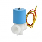 "1/4"" Electric Solenoid Valve 12-Volt DC, 12VDC, Air, Water"