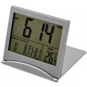 Simple Desk Digital LCD Thermometer Calendar Alarm Clock Electronic