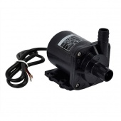 Black DC 12V Micro Amphibious Brushless Magnetic Pump Submersible High Solar Water