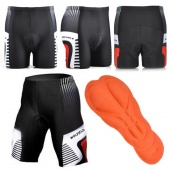Mens Bike Bicycle Cycling Outdoor Wear Riding Padded Shorts Pants Size M-XXL