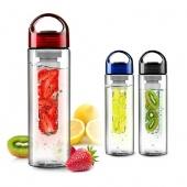 700ML Fruit Infusing Infuser Water Bottle Sports Health Lemon Juice Make Bottle
