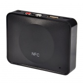 NFC-Enabled Bluetooth Audio Receiver NFC Desktop Bluetooth Receiver for Sound System