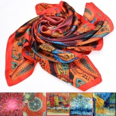 Fashion Lady Women's Long Vintage Printed Scarf Wraps Shawl Stole Soft Scarves