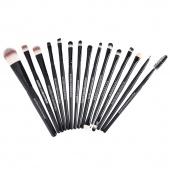 Pro Makeup Cosmetic Tool Brush Set Foundation Eye Shadow Eyebrow Lip Brush 15 PCs Set