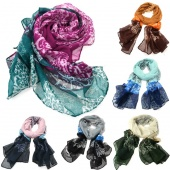 Women's Ladies Voile Soft Scarves Long Wraps Shawl Warm Winter Scarf