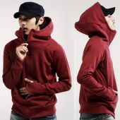 Fashion Men's Casual Slim Fit Sexy Top Designed Hoodies Jackets Coats