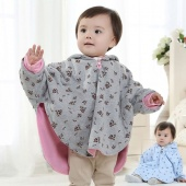 Baby Kids Children's Warm Wear England Style Cloak-sided Cover Outerwear