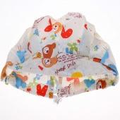 Nurse Doctor's Floral Print Loose Cap Medical Surgical Surgery Hat