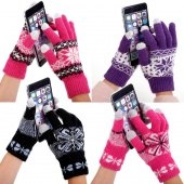 Stylish New Fashion Fall Winter Warm Touch Screen Gloves for Iphone Ipad Ipod