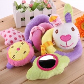 Kids Baby's Lovely Animal Soft Toys Hang Bed Bells Developmental Toy