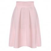 Fashion Stylish Lady Women's Casual A-Line Pleated Midi Skirt
