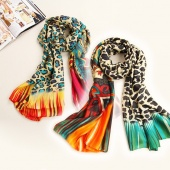 Fashion Women's Print Long Wraps Shawl Scarf Muffler