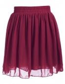 Stylish Lady Women's New Fashion Chiffon High Waist Pleated Tutu Short Skirts