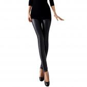 Fashion Lady Women's Slim Artificial Leather Skinny Pencil Leggings