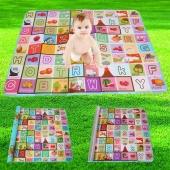 Kids Babies 180 X 150 Play Mats Eco-friendly Crawling Pad Multifunctional Educational Mats
