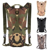 Fashion Men Camouflage Camping Climbing Travel Backpack Sports Backpack with Water Bladder