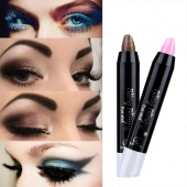 Fashion Women's 13 Colors Professional Brighten Pearl Pen Makeup Pencil Eyeshadow Pen