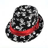 Stylish Kid's Unisex Casual Outdoor Print Hat Jazz Hat Visor Hat