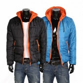 Mens Winter Jacket Hooded Coat Parkas Outerwear Male Casual Cotton-padded Outwear
