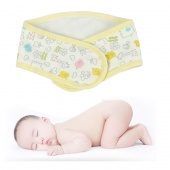 Infant Child Umbilical Hernia Protection Baby Cloth Velcro