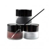Women's Makeup 3 Colors Eyeliner Eye Liner Gel Cream + 1pcs Single Head Brush