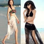 Stylish New Fashion Lady Women Sexy Bandage Lace Beach Wrap Skirt
