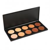 Fashion 10 Colors Professional Concealer Palette Cosmetic Palette Set